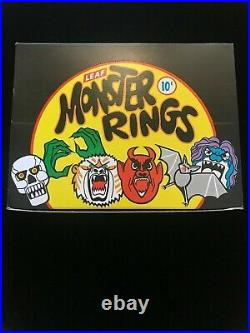 1960s MONSTER RINGS FULL BOX, NM/MINT CONDITION MADE IN HONG KONG