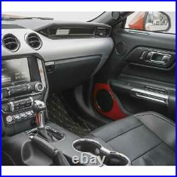 20PC Carbon Fiber Interior Accessories Decor Trim Kits for Ford Mustang 15+