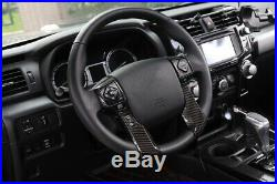 9pcs Interior Decoration Cover Frame Trim Accessories For Toyota 4Runner 2010-19