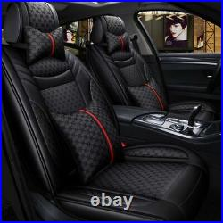 Car Decor 5-Sits Seats Cover Front Rear Cushion Protector Luxury Auto Interior