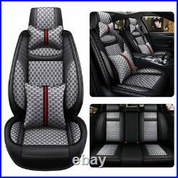 Fly5D Fashion Decor Car Seat Cover Thicken Leather Four Season Universal Cushion