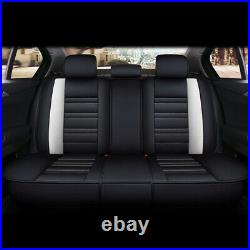 Fully 5D Leather Cover For 5-Sit Seat Cover Auto Decor Fashion Cushion Universal