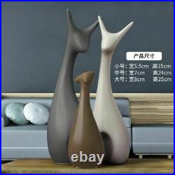 Home Figure Decoration Lovely Dancer Owl Animal Ornament Decor Accessories Gift