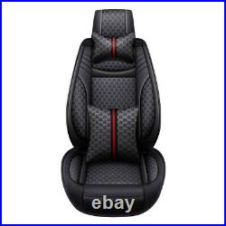 Luxury Car Seats Cover SUV Auto Decor Comfortable Front Rear Full Set Cushions