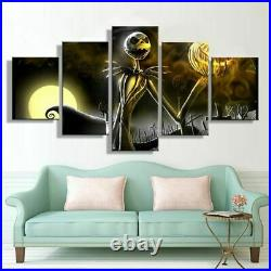 Nightmare Before Christmas Canvas Prints Painting Wall Art Home Decor Picture 5P