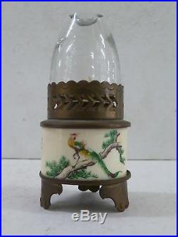 Vintage Hand Decorated Band Fairy Lamp / Night Light Made In Hong Kong