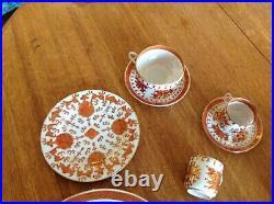 Vintage TFF Japanese Porcelain Ware Decorated In Hong Kong lot of 49