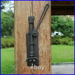 Wine Bottle Opener Wall Mounted Vintage Home Bar Decor Cast Iron